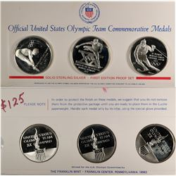 U.S. Olympic Team Commemorative Medals  (124031)
