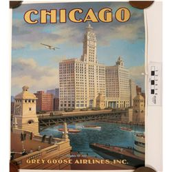 Airline Ad Poster  (122882)