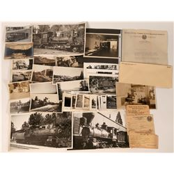 Nevada County Narrow Gauge RR Photos & Ephemera  (122852)
