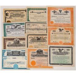 California Livestock Company Certificates  (124557)
