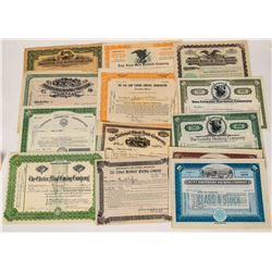 Eastern Cattle Company Stock Certificates  (124558)