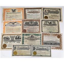Grain and Mill Company Stock Certificates  (119385)