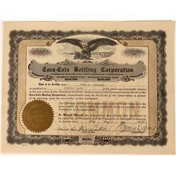 Coca-Cola Bottling Corporation Stock  (123343)