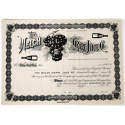 Welch Grade Juice Company Stock  (123243)