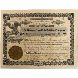 St. George Coca-Cola Bottling Company Stock  (123276)