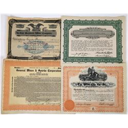 Eastern Wine Company  Stock Certificates  (119379)