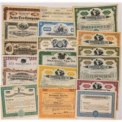 Food Company Issued Stock Certificates  (124551)