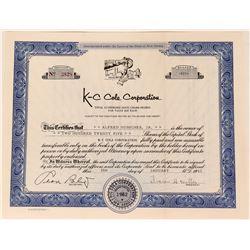 K-C Cola Corporation  (123436)