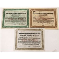 Reinforced Paper Bottle Corporation Stocks   (123291)