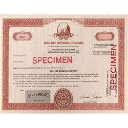 Boulder Brewing Company Specimen Stock  (123361)