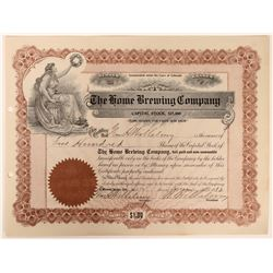 The Home Brewing Company Stock  (123389)