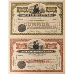 Atlas Brewing Company Stocks  (123379)