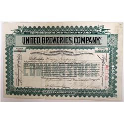 United Breweries Company Stock  (123258)