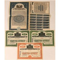 Croft Brewing Company Bond and Specimen Stocks  (123338)