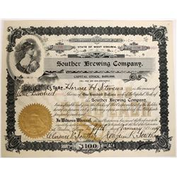 Souther Brewing Company Stock  (123275)