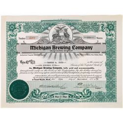 Michigan Brewing Company Stock  (123441)