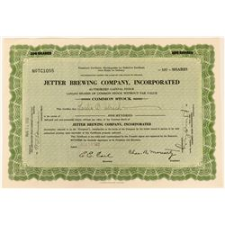 Jetter Brewing Company Temporary Stock   (123432)