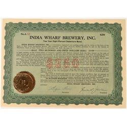 India Wharf Brewery Temporary Stock  (123429)