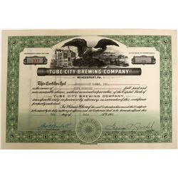 Tube City Brewing Company Stock  (123247)