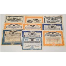Brewery Company Stock Certificates  (124587)