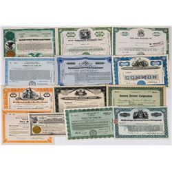 Food Stores / Grocery Market Stock Certificate Group  (113716)