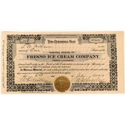 Fresno Ice Cream Company Stock  (123425)