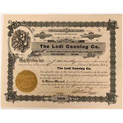 Lodi Canning Company Stock  (123403)