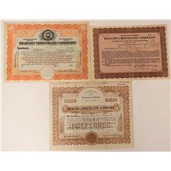 Beacon Chocolate Company Stocks  (123367)