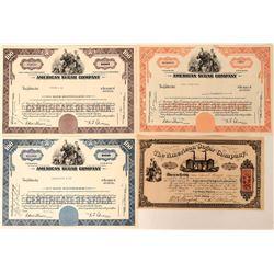 American Sugar Company Stock Certificates  (123375)