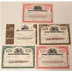 Hershey Chocolate Corporation Stocks  (123391)