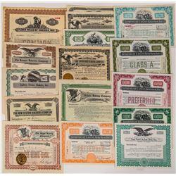 Bakery Company Stock Certificates  (124552)