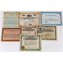 Candy & Sweet Foods Stock Certificate Group  (113715)