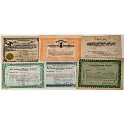 Chocolate Company Stock Certificates  (124547)