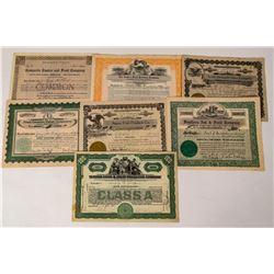 Eastern Fruit Company Stock Certificates  (124569)