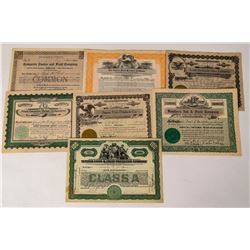 Eastern Fruit Company Stock Certificates  (124569)