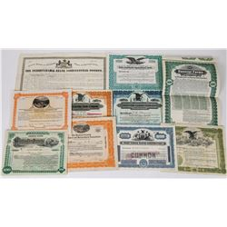 Eastern States Farm-Related Stock Certificate Group  (113730)