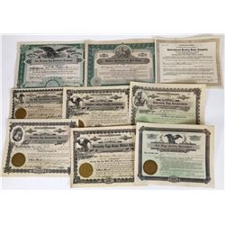 Egg & Chicken Production Stock Certificates  (119383)