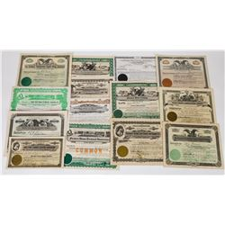 Mid-West Farm-Related Stock Certificate Group (14)  (113731)