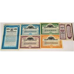 Sperry Flour Company Stocks & Bonds  (124571)