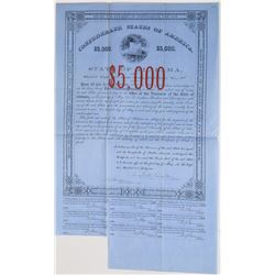 Confederate States of America Bond  (113740)