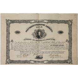 Confederate States of America Bond  (113741)