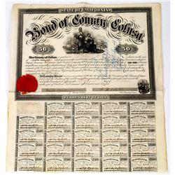 $50 Colusa County Bond  (113697)