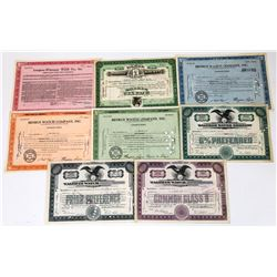 Watch Company Stock Certificate Collection  (113671)