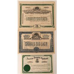 American Druggist Syndicate Stocks  (123377)