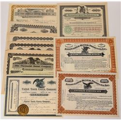 Dental Company Stock Certificates  (124553)
