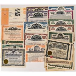 Drugs & Herb Company Stock Certificates  (124550)