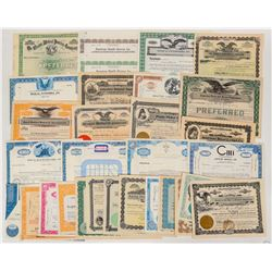 Medical & Health Institution Stock Certificates  (124584)