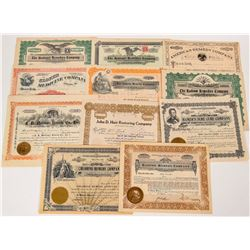 Medical Remedy Company Stock Certificates  (124588)