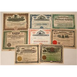 Pharmaceutical Stock Certificates  (124549)