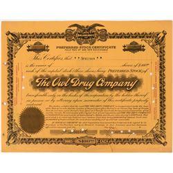 The Owl Drug Company Stock  (123315)